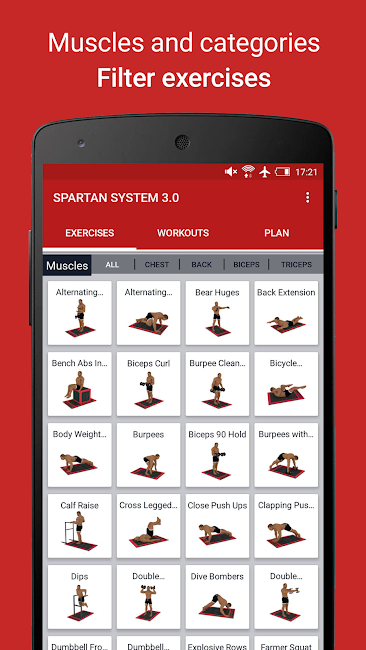 #1. MMA Spartan System 3.0 Free (Android)