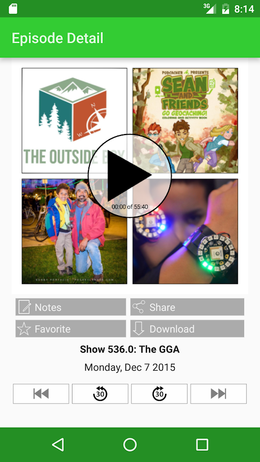 PodCacher: Geocaching Goodness- screenshot
