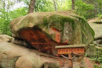 Photo: pewnie nazwa wzięła się od kolorów skały...