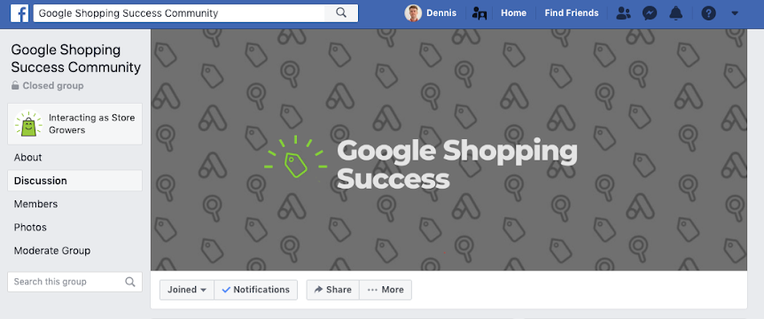 google shopping community overview