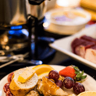 Fondue & Charcuterie Night | NYE Recipes.