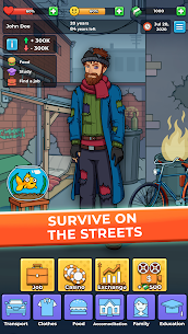 Hobo Life: Business Simulator & Money Clicker Game MOD (Money) 3