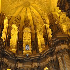 Illustration by J & M - Buildings & Architecture Other Interior ( interior, illustration, image, cathedral, view )