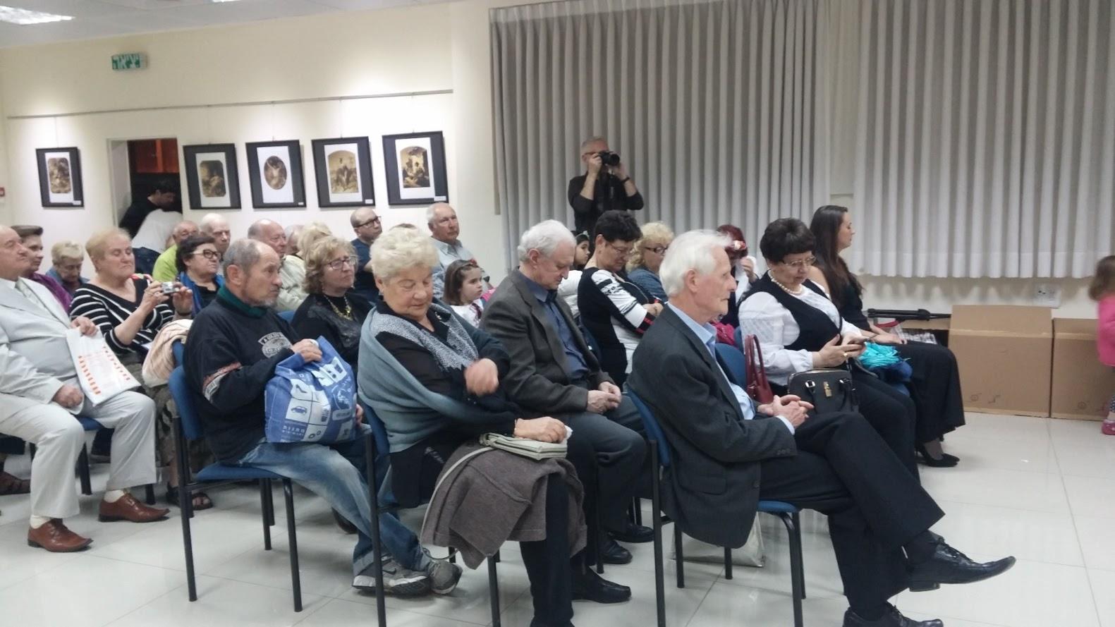 Photo: 15 марта 2017 г., в Украинском Культурном Центре в Израиле в городе Бат-Ям вечер, посвященный творчеству Т.Г.Шевченко.