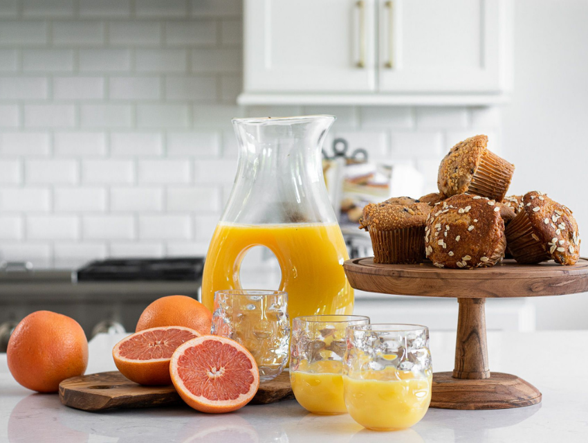 superior construction and design lebanon, tn general contractor cost grapefruit muffins and orange juice breakfast in a traditional kitchen