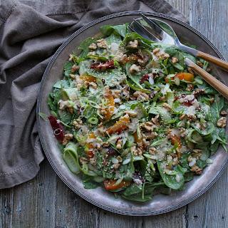Sesame Spinach & Citrus Salad Recipe