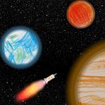 Kids Solar System Explorer Icon
