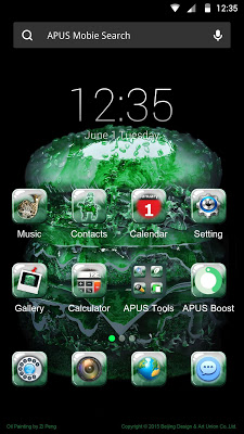 All Jade Matters APUS theme - screenshot