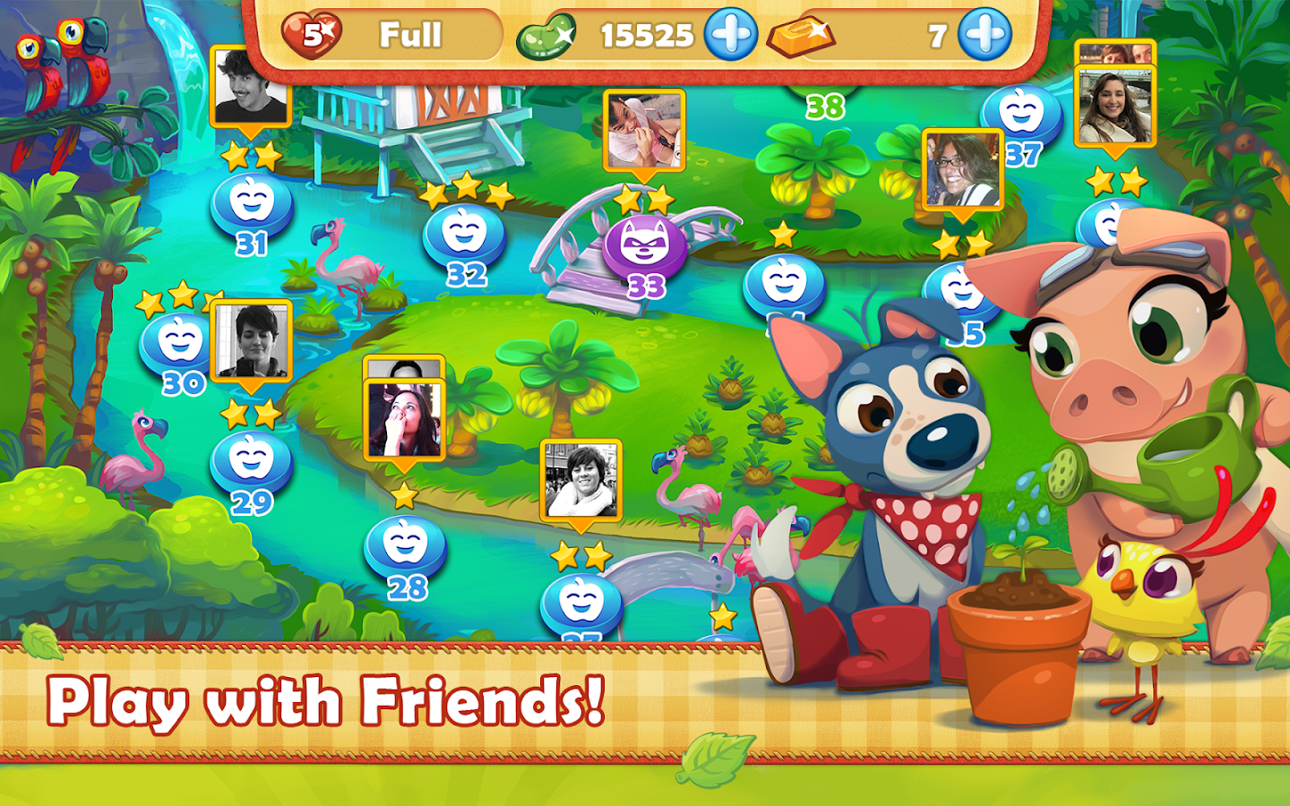 Farm Heroes Saga- screenshot