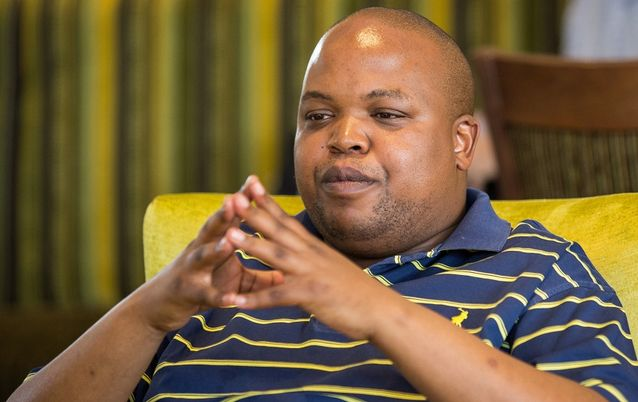ANC Youth League president Collen Maine. Picture: SUNDAY TIMES