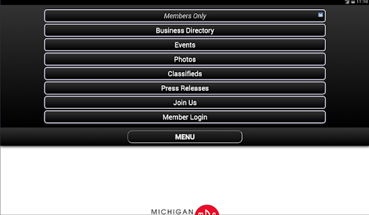 Michigan Downtown Association- screenshot thumbnail