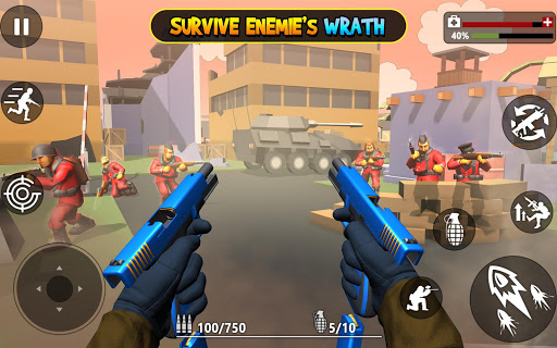 Toon Royale.io - Gun Battle 1.1 screenshots 1