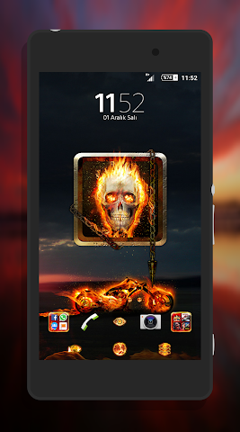 android Fever XpeRian Theme Screenshot 0