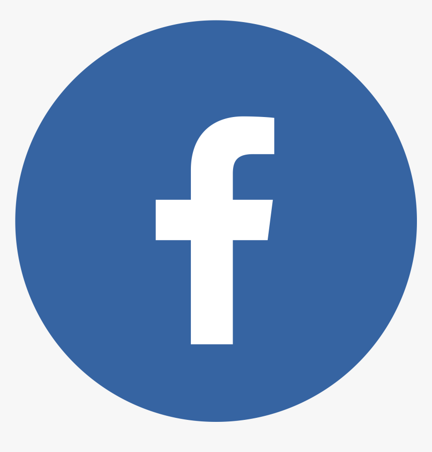 Facebook Logo Circle - Email Signature Facebook Icon Small, HD Png Download  - kindpng