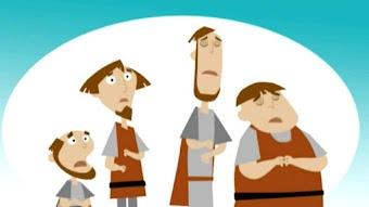 Die Selkie-Frau/ Dionysos und die Piraten/ König Knut und das Meer/ Die Rübe