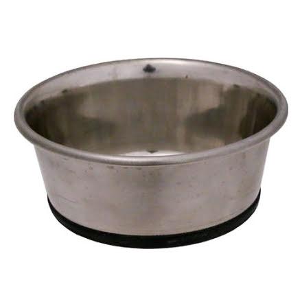 Hundskål Rostfri Antitip Tung 2750ml 23,5cm