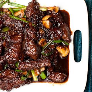 P.F. Chang's (or Pei Wei's) Mongolian Beef.