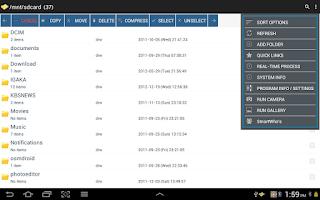 Screenshot of Smart File Manager