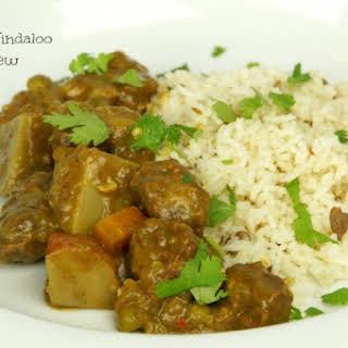 Lamb Vindaloo Stew.