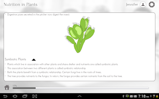 Screenshot of Grade 7 Science