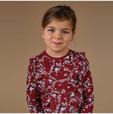 Sadie - Mönstrad trikåklänning