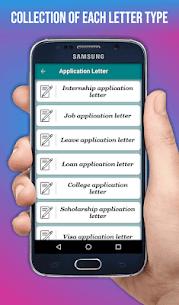 Letter Templates Offline – Letter Writing App Free 2