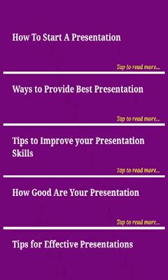Presentation Skills - screenshot