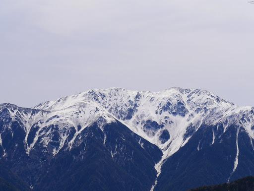 赤石岳アップ
