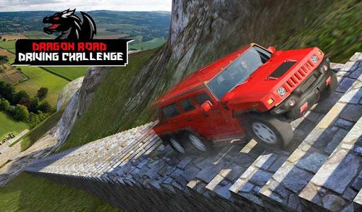 Cruiser Car Stunts: Dragon Road Driving Simulator apktram screenshots 14
