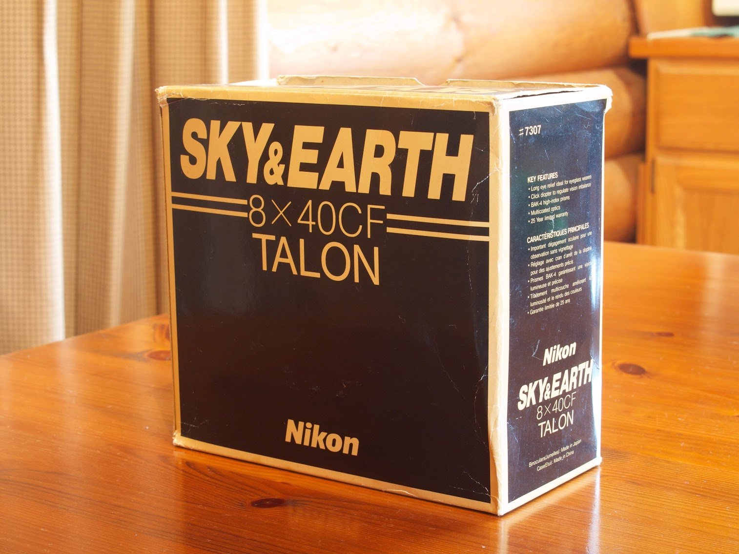Nikon Sky & Earth 8x40 CF Talon Box
