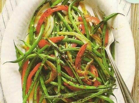 Too Good To Be Healthy Stir Fried Green Beans