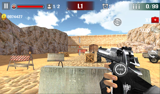 Sniper Shoot Fire War 1.2.5 screenshots 8