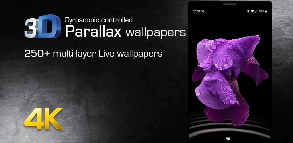 3D Parallax Wallpaper - Live Backgrounds Ringtones 2 2 0 Apk