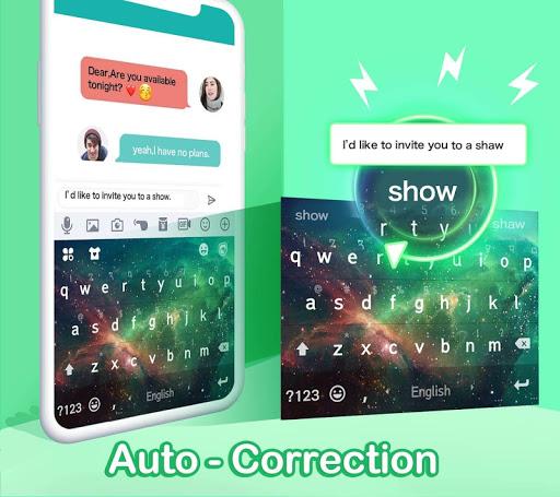 Kika Keyboard 2020 - Emoji Keyboard, Stickers, GIF 6.6.9.5856 Screenshots 7