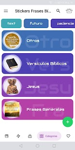 Stickers Frases de Dios para WhatsApp WAStickerApp Screenshot