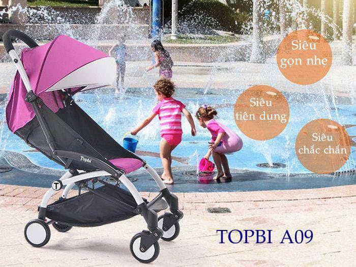 Xe đẩy cho bé TOPBI A09 (AB-601)