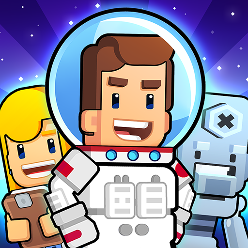 Rocket Star - Idle Space Factory Tycoon Game Icon