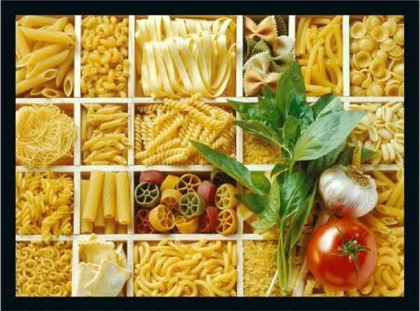 Pasta Types Recipe