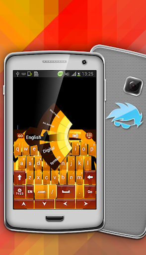 Blue Galaxy GO Keyboard Theme - Google Play Android ...
