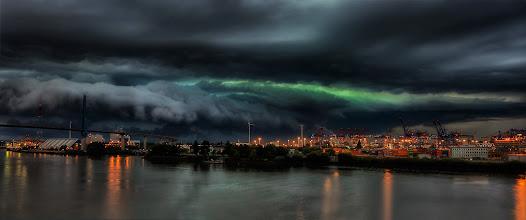Photo: Sturm über Hamburg