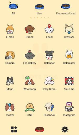 Cute Wallpaper I Love DOGS Theme 1.0.0 Windows u7528 3