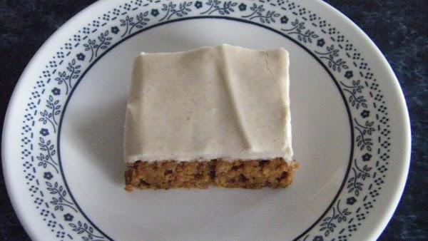 Sweet Potato Spice Bars Recipe