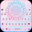 Pastel Mandala Keyboard Background icon