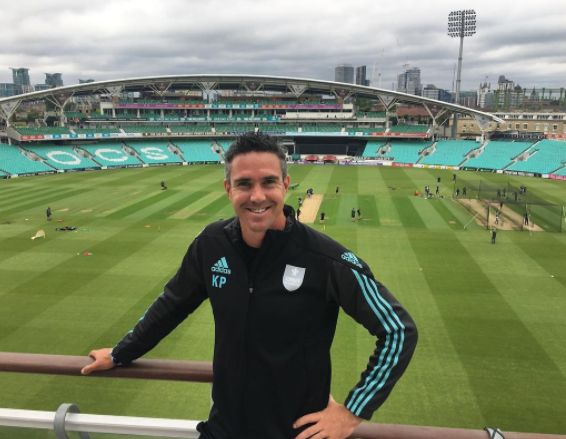 Former England captain Kevin Pietersen at The Oval in London on Wednesday 19 July 2017. Pietersen will be one of big name players to feature for the upcoming T20 Global League to be staged in South Africa in November 2017.