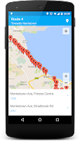 Screenshot of Next Bus Dublin Free