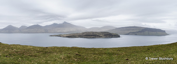 Photo: Ben More beyond the island of Eorsa in Loch Na Keal, Mull