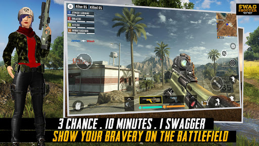 Swag Shooter - Online & Offline Battle Royale Game 1.6 screenshots 6
