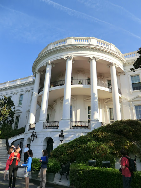 Photo: South Portico of the White House