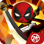 Stick vs zombie - Stickman warriors - Epic fight