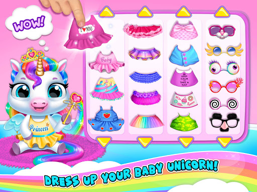 My Baby Unicorn 2 - New Virtual Pony Pet apkdebit screenshots 19